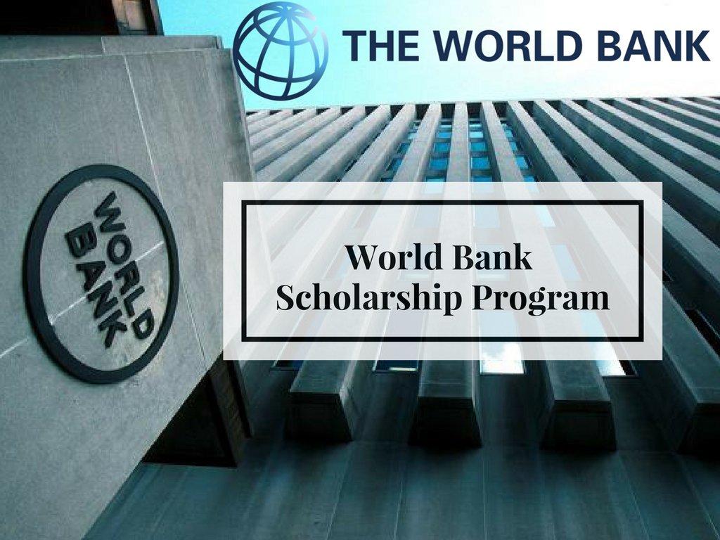 მსოფლიო ბანკის სამაგისტრო სტიპენდიები
